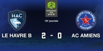 LE HAVRE B / AC AMIENS : 2-0